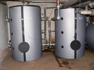 Akumulační zásobník teplé vody